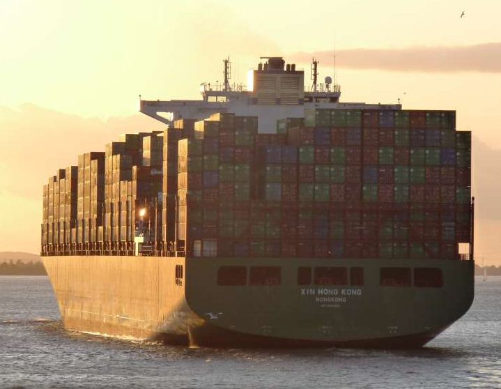 Container-Vessel-Xin-Hong-Kong