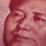 Late Chinese leader Mao Zedong is seen on a 100 yuan banknote in this photo illustration taken in Beijing